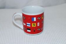 SWITZERLAND ceramic souvenir mug cup with flags with cow in the inner rim