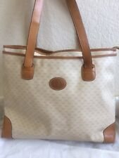 Vintage Gucci Signature Handbag Beige/Light Brown - From Early 80's