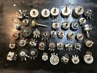 Vintage Lot Radio Parts Rotary Switch Rotary Wafer Switch Tube Amp Antique Radio