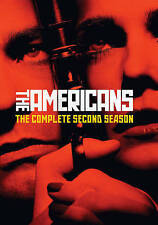 The Americans: Season 2 (DVD) NEW!!!FREE FIRST CLASS SHIPPING !!