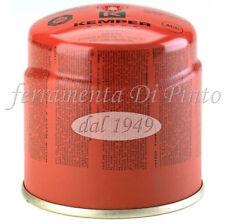 CARTUCCIA Butano gr 190 Ricarica Fornello Gas Campeggio Saldatore KEMPER BOMBOLE
