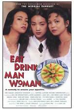 EAT DRINK MAN WOMAN Movie POSTER 27x40 Sihung Lung Kuei-Mei Yang Yu-Wen Wang