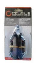 Celsius Ice Gear Sure Grip Ice Cleats Easy-On Spikes Fits All Boot/Shoe Sizes