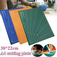 A4 PVC Grid Lines Cutting Board Mat Self-healing Cutting Pad Tool Set 300*220mm
