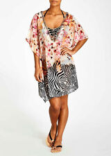 Papaya Polyester Sarongs, Cover-ups Swimwear for Women