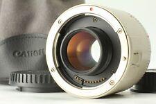 【NEAR MINT+++ w/ Poach】 CANON Extender EF 2x Teleconverter Lens From JAPAN