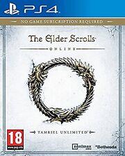PS4 Game The Elder Scrolls Online: Tamriel Unlimited New