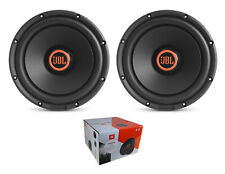 """Pair of JBL 12"""" 3000W Switchable 2 or 4 Ohm High Performance Subs Stadium 1224"""