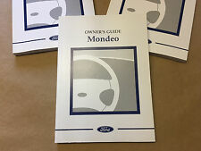 NEW GENUINE FORD MK2 MONDEO ST200 ST24 ETC OWNERS MANUAL BOOK NOS