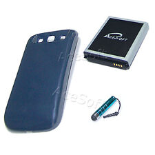 7570mAh Extended Battery Door Cover Pen For For Samsung Galaxy S3 S III SGH-I747