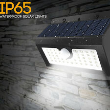 45 LED Solar Power PIR Motion Sensor Light Outdoor Garden Waterproof Wall Lamp