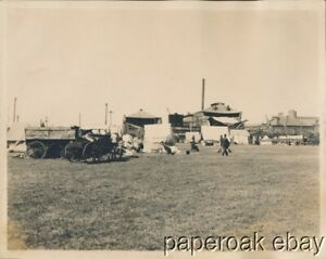 ca.1915 Original Photo Of Scene With Olympia Beer Delivery Wagon