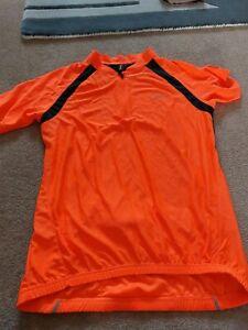 Xl Muddy Fox Orange Sports cycling Shirt Vgc Little Wear