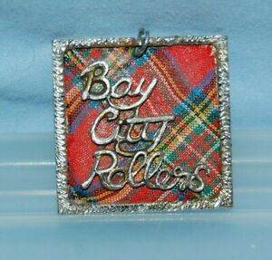 Vintage 1970's BAY CITY ROLLERS Pendant  No Chain