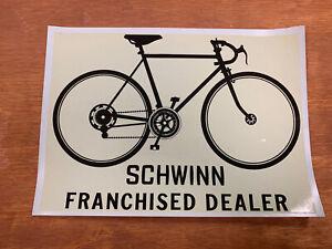 Schwinn Dealer Window (decal)