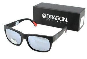 POLARIZED NEW Genuine DRAGON TAILBACK H2O Matte Black Grey Sunglasses DR 049