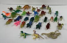 Lot of 35 Mini Plastic Dinosaur Figures