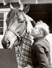 "Seabiscuit & canadian jockey Red Pollard 10"" x 8"" photo print"