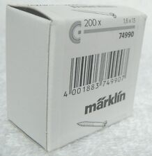 Marklin 74990 C rail (bevestigins) schroeven ca 200 stuks, ideaal om discreet