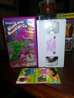 Barney Round and Round We Go VHS,WHITE TAPE EDUCATIONAL NOT ON TV FREE SHIPPING