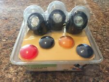 Garden Treasures Pond Accent Light Kit w/ 3-10W Lights, Transformer, New #60859