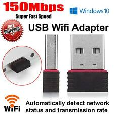 New Mini USB WiFi Dongle 802.11B/G/N Wireless Wifi Network Adapter for Laptop PC