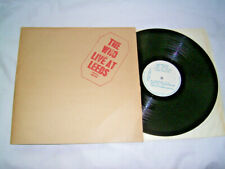 LP - The Who Live at Leeds - UK Misprint # cleaned