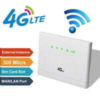 3G/4G-CPE LTE Wireless Router 300Mbps Mobile Hotspot Modem SIM Card Slot Hot