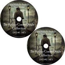 Arthur Conan Doyle Audio Book Collection Unabridged 2 MP3 DVDs Sherlock Holmes