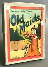 Roberts Brother's Old Maids Game   Sporting Theme   Glevum Games   Circa 1920