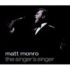 "MATT Monro ""The Singer 's Sing"" 4 CD NUOVO"