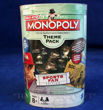 New SPORTS FAN Edition MONOPOLY TOKENS THEME PACK Glove FOOTBALL Soccer TENNIS