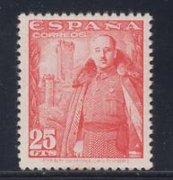 ESPAÑA (1948) NUEVO SIN FIJASELLOS MNH - EDIFIL 1024 (25 cts) FRANCO - LOTE 4