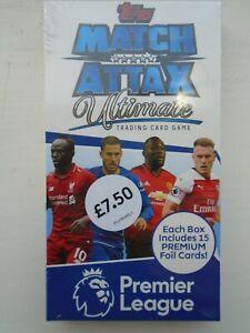 Topps Match Attax Ultimate Premier League Mini Box 2018/19 15 Premium Foil Cards