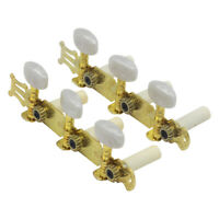 Yellow A Pair Machine Heads String Tuning Pegs Tuners Button for Acoustic Guitar