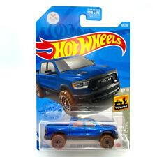 Hot Wheels 2020 Ram 1500 Rebel Blue - Baja Blazers 8/10 - New for 2021 - Lot 1