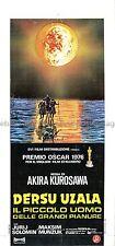Dersu Uzala R1976 dir: Kurosawa Italian locandina