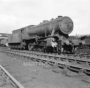 M-2092 60X60mm Railway Negative WD 90010 @ Gorton Shed 4-4-1965