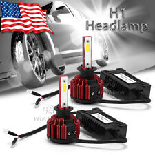 YITA 2X H1 300W LED Headlight Conversion Bulb High Low Beam White Replacement