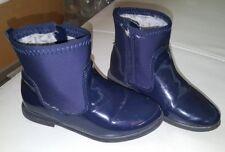 ZARA Baby Chelsea Boots Stiefeletten Lack gefüttert Gr. 24