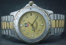 Vintage Tag Heuer Professional 200M ETA 955.112 Diver's Rotating Bezel Men Watch