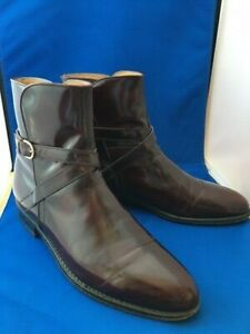 Italian made vintage equestrian jodhpur boots, made for Lucchese. 10.5C-11B