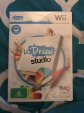 💕U DRAW STUDIO NINTENDO WII GAME PAL With Instructions💕