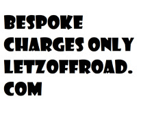 Bespoke Charges