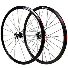 Conquer S-300 Fixed Gear 700c Wheelset DRILLING: Front/20 Rear/28