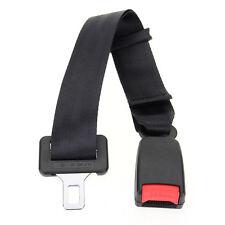 Black 25-65cm Car Seat Seatbelt Safety Belt Clip Extender Extension Buckle ABS