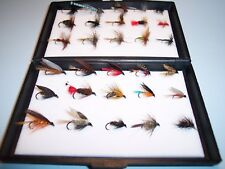 15 WET & 15 DRY TROUT SINGLE FLIES IN A FREE ECO FLY BOX THE PERFECT XMAS GIFT