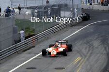Bruno Giacomelli Alfa Romeo 182 Detroit Grand Prix 1982 Photograph
