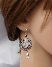 farfalla orecchini Argento Strass,zircone,cristalli ,Da Donna,idea regalo