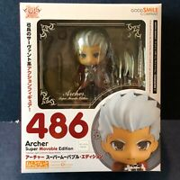 Fate Stay Night FGO Archer Emiya Shirou 486 Nendoroid NEW Authentic